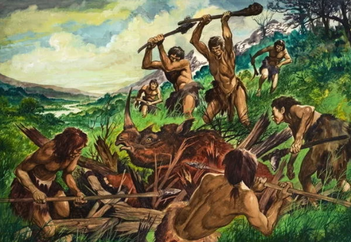 History of Man Tracking-The Primitive Era.