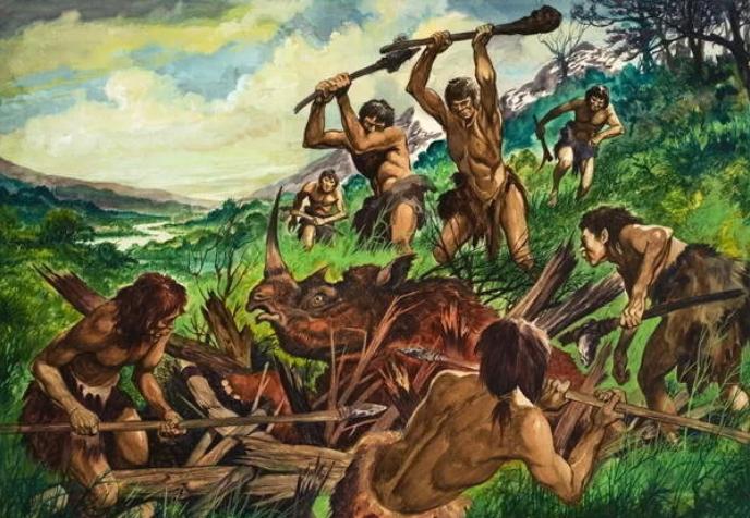 History of Man Tracking-The PrimitiveEra.