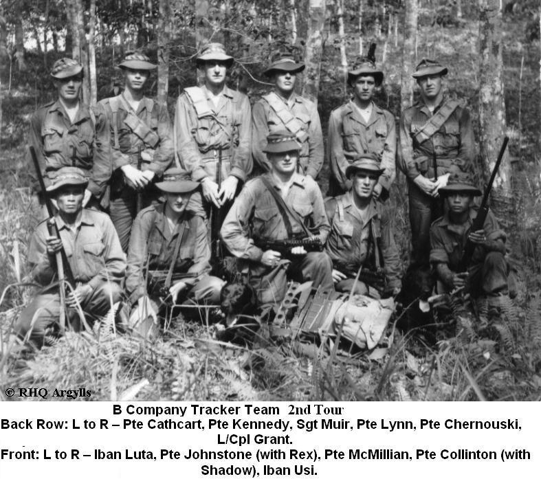 Combat tracking teams ofVietnam.