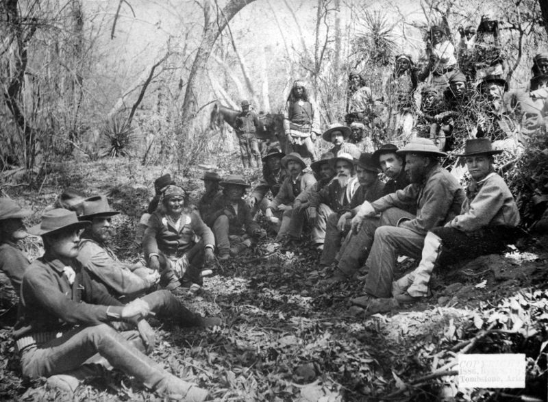 General Crook and the surrender of Geronimo.