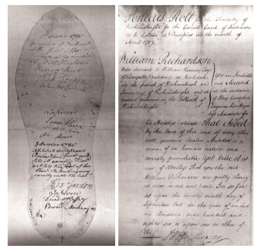 The Richardson Case,1786.