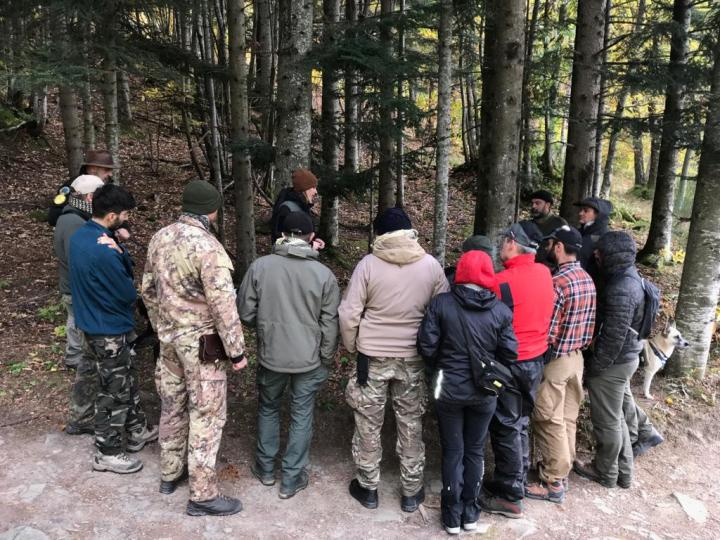 Basic Tracking Course in collaboration with Cimone Outdoors
