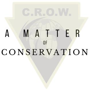 a matter of conservation logo
