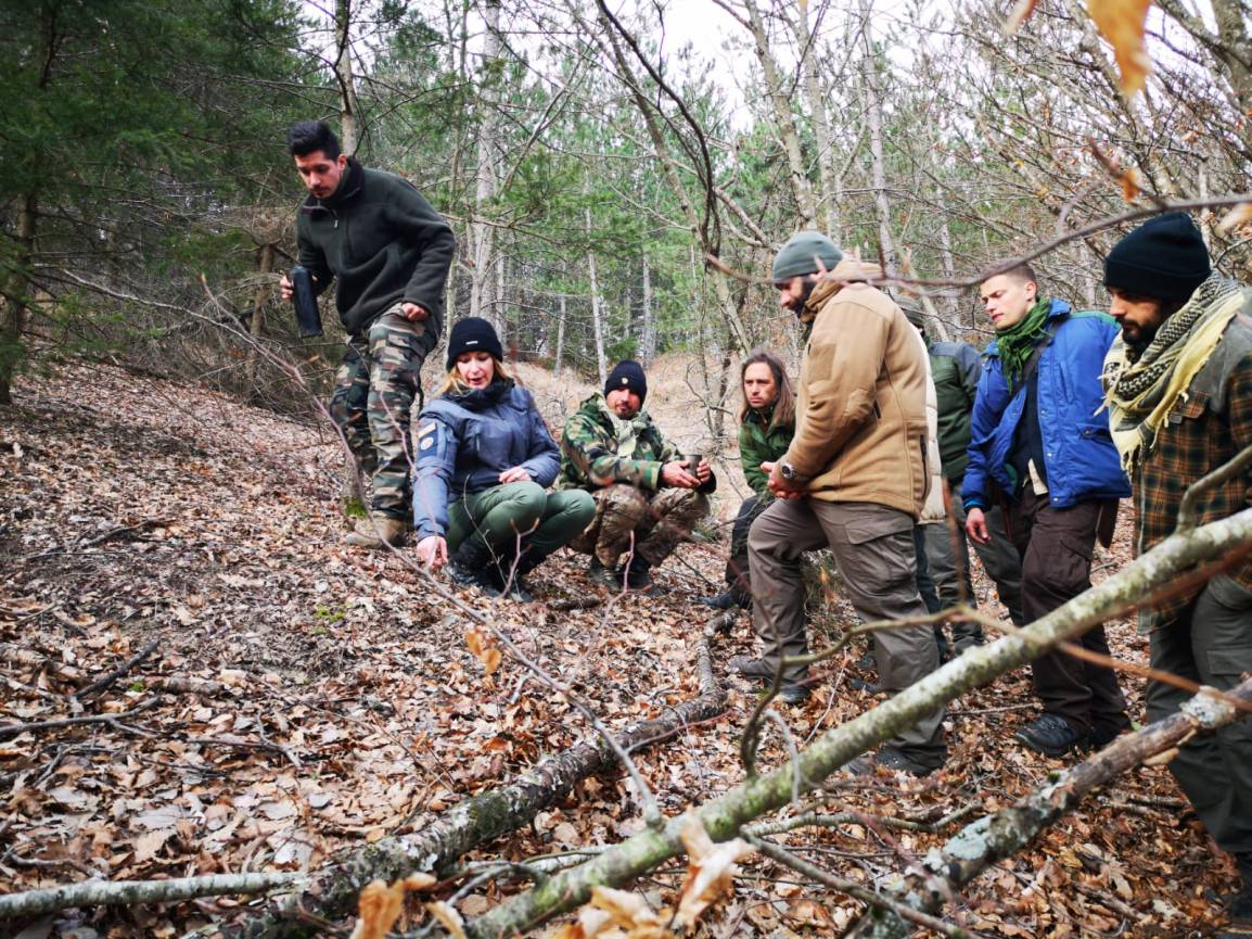Workshop on Tracking at Pathfinder School – Dave Canterbury's Basic Survival Class