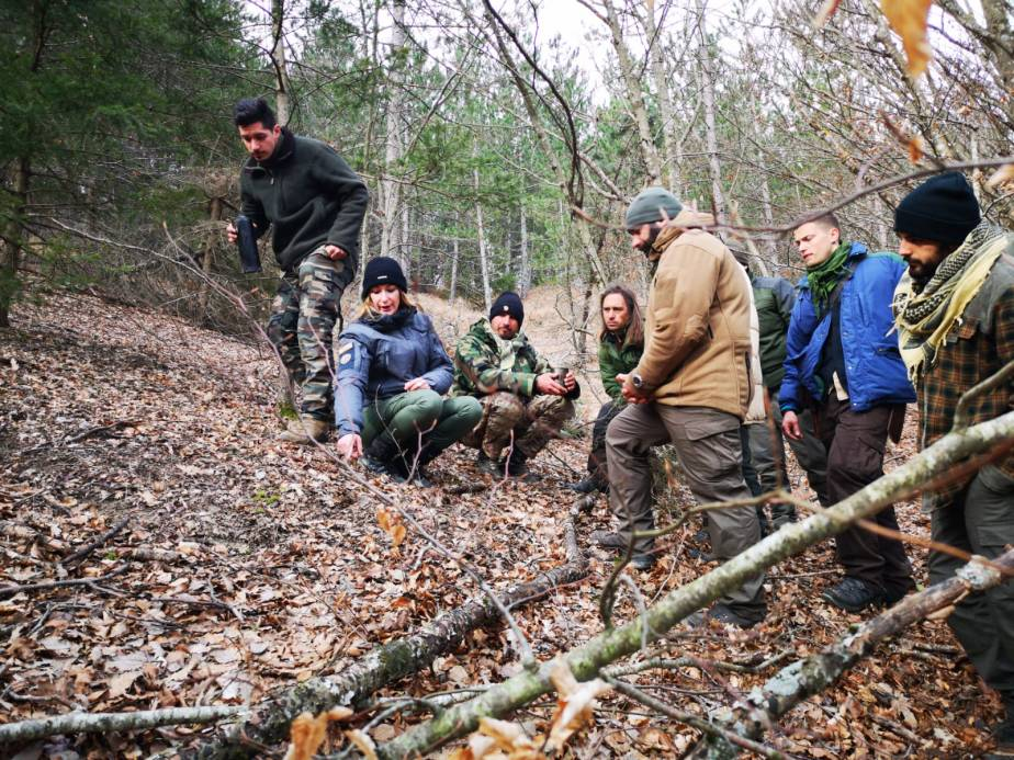 Workshop on Tracking at Pathfinder School – Dave Canterbury's Basic SurvivalClass