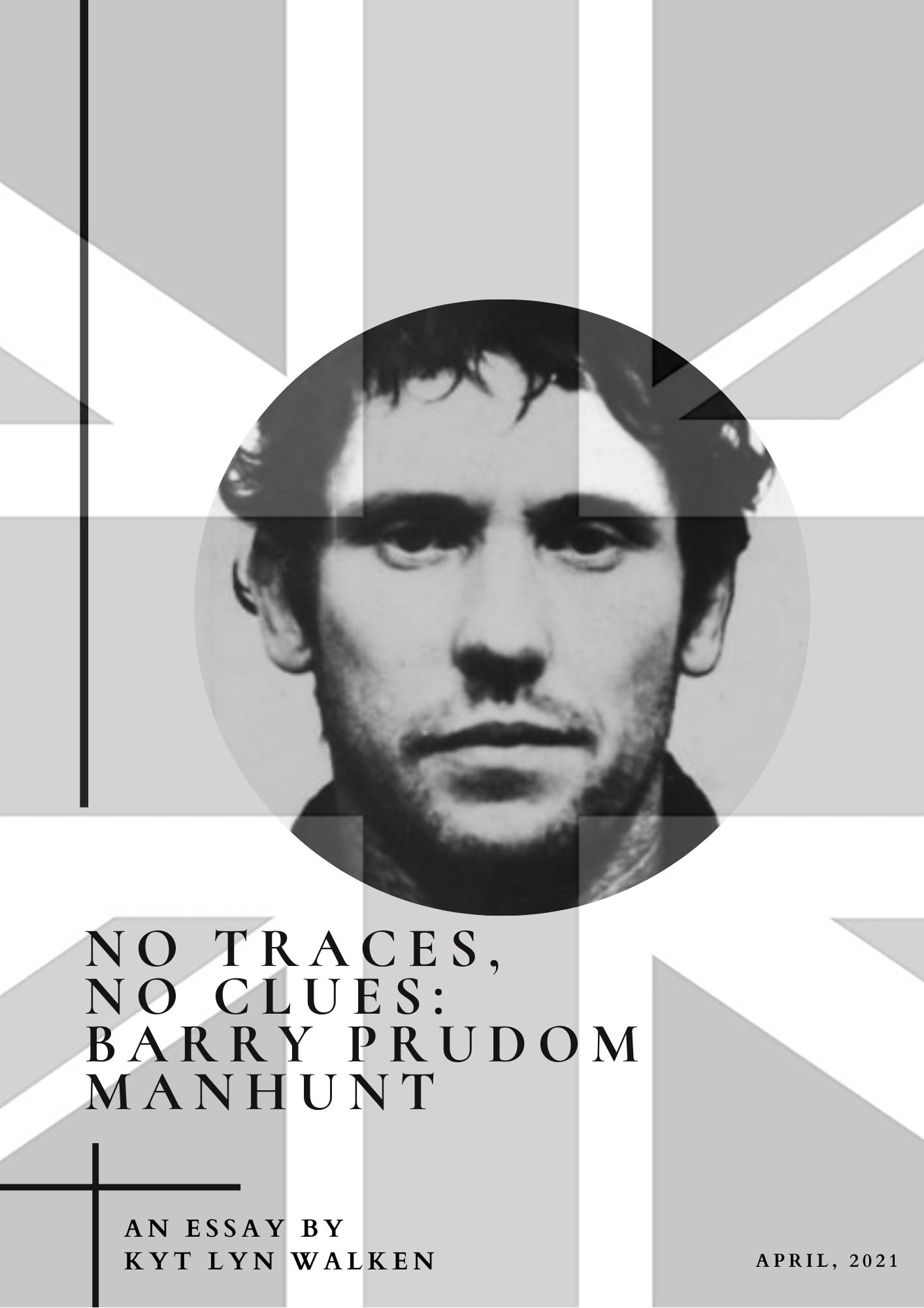 No traces, no clues_ Barry Prudom Manhunt